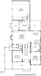 Floor Plans With Wrap Around Porch by Southern Heritage Home Designs House Plan 3789 D The Calhoun D