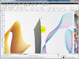 corel draw x4 blend tool learn corel draw tutorials in hindi blend tool effect advance