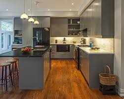 Gray Cabinets In Kitchen by Light Grey Kitchen Cabinet Houzz