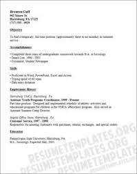 Resume Template Job by Internship On Resume Best Template Collection Http Www