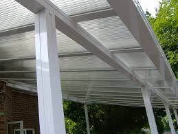 clear or translucent patio covers and sunroom glazing
