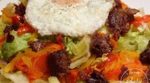 cuisiner manchons de canard salade gourmande aux manchons de canard la tendresse en cuisine