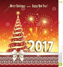 merry and happy new year 2017 stock vector image 73182085