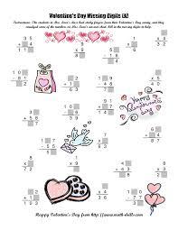 missing number worksheet new 18 valentine missing number worksheets