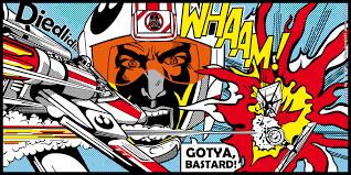 roy lichtenstein vector wars popart battle by bergie81 on deviantart