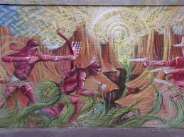 western mural scott s place images and words these