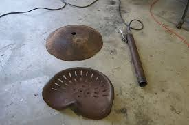 Tractor Seat Bar Stools For Sale Bar Stools Made From Tractor Seats Found While On Hometalk Outing