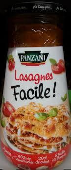 cuisine lasagne facile lasagnes facile panzani 500 g