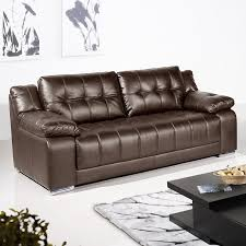 Brown Leather Sofas by Strada Dark Brown Leather Sofa Collection