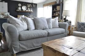 Ikea Kivik Sofa Grey Sofas Center Gray Ikea Kivik Sofaipcovergrayipcovers At Bath And
