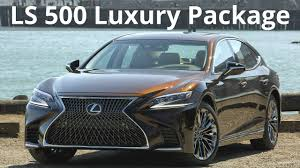 lexus ls build your own 2018 lexus ls 500 awd luxury package longer wider and more