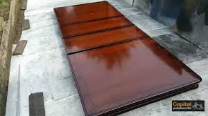 how to refinish dining room table provisionsdining com