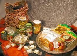 international gift baskets ajika dinner for four gift basket