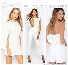 white rompers and jumpsuits 8 white jumpsuits and rompers my hotel wedding