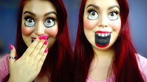 Creepy Doll Makeup Halloween by Creepy Doll Ventriloquist Halloween Makeup Tutorial Youtube