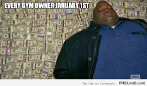 New Years Gym Meme - 30 funny gym owner on january 1st meme pmslweb