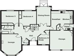 3 Bed Bungalow Floor Plans House Floor Plan In Addition Ghana House Plans On Ghana House Plans