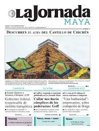 la jornada maya miércoles 23 de noviembre 2016 by la jornada