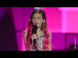 The Voice Kids Blind Auditions 2014 I Love This Song Bcause My Bassist Eve Sings Still Into You