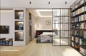 trennwand schlafzimmer 1 zimmer wohnung einrichten 13 apartments als inspiration
