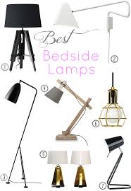 t d c interior styling bedside lamps