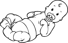 baby boy top coloring page wecoloringpage
