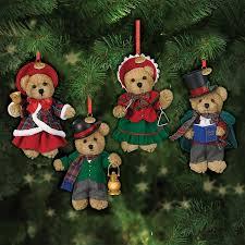quartet the 2015 teddy ornaments the danbury mint