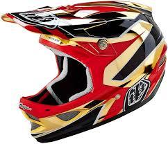 troy lee designs motocross helmets troy lee designs d3 reflex gold chrome buy cheap fc moto