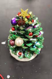 silver pine cone tree ornamentspine