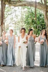 dusty wedding dress pleated halter neck bridesmaid dresses weddceremony