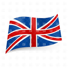 national flag of great britain union jack vector image 20887