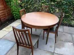 G Plan Coffee Table Teak - gplan furniture extendable teak table and chairs retro 60s 70s