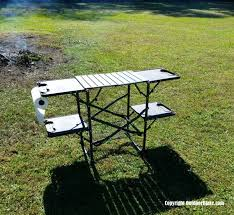 outdoor cooking prep table outdoor cooking table great for car cing or tailgating the