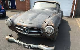 mercedes classic 2017 would you pay 50 000 for this u0027barn find u0027 1960 mercedes 190sl