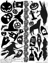 Halloween Silhouettes by Artfully Musing General Halloween