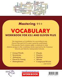 11 vocabulary practice book ks2 and eleven plus amazon co uk
