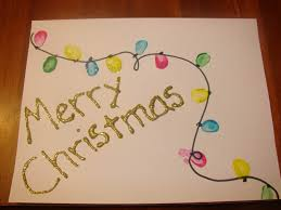 Home Made Decorations For Christmas Homemade Christmas Card Ideas For Kids To Make Christmas Lights
