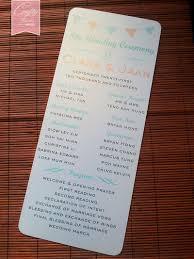 flat wedding programs wedding card malaysia crafty farms handmade wedding program