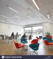 The Manchester Foyer Foyer And Breakout Area On Top Floor With View To Roof Terrace