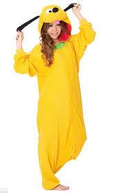 Piece Halloween Costumes 2014 Animal Anime Pluto Kigurumi Pajamas Yellow Piece