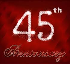 45th birthday stock vectors royalty free 45th birthday