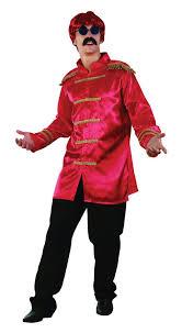Beatles Halloween Costumes Beatles Sgt Peppers Red Jacket Gold Trim Bristol Novelties