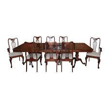 Keller Dining Room Furniture Style Maple Dining Table With Chairs By Keller Ebth