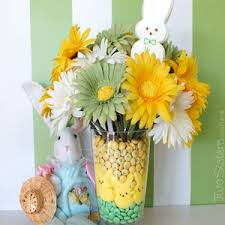 peeps decorations 100 cheap and easy diy easter decorations prudent pincher