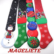 new years ties novelty christmas ties fashion snowman penguin candy