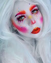 best 25 clown makeup ideas on pinterest mime makeup harlequin
