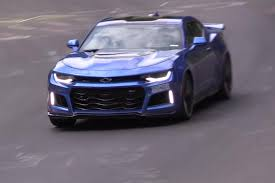 chevy camaro watch the 2017 chevy camaro zl1 hustle through nürburgring