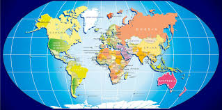 True Map Of The World by Map Of Europe And North Africa Roundtripticket Me
