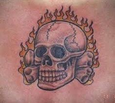 interest tattoo ideas and design flaming army skull tattoo
