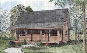 cabin plans with porch log home plans less than 1000 square of living space